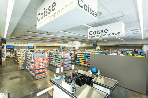 Pharmacie Becker (84)- Caisses - Boisson + Partners
