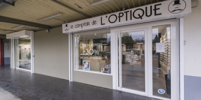 agencement magasin optique